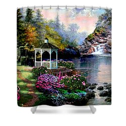 The Path Least Fallowed 2 Shower Curtain