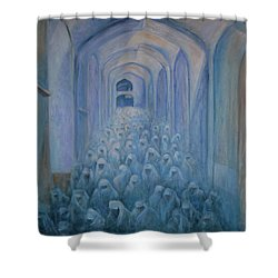 The Prayers... Shower Curtain by Xueling Zou