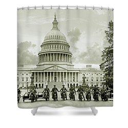 The Presidents Club Shower Curtain
