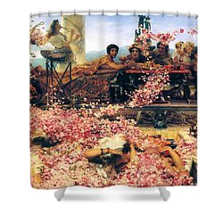 The Roses Of Heliogabalus Shower Curtain