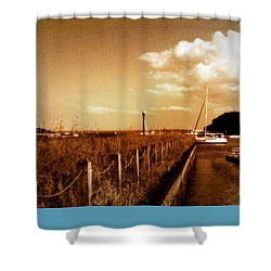 The Summer Wind V Shower Curtain