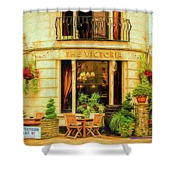 Shower Curtain featuring the photograph The Victoria by Wallaroo Images