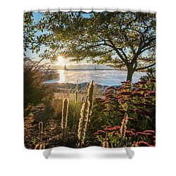 The View Shower Curtain by James Meyer