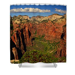 The Virgin River Shower Curtain