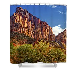 The Watchman Shower Curtain by Raymond Salani III