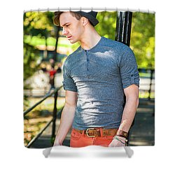 Thinking Outside Shower Curtain