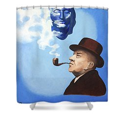 This Is Not A Pipe Dream Shower Curtain