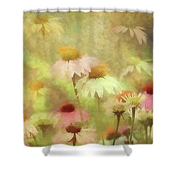 Thoughts Of Flowers Shower Curtain