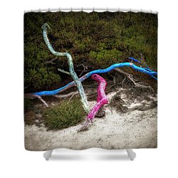 Three Branches Shower Curtain
