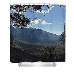 Three Brothers From Four Mile Trail Shower Curtain
