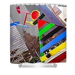 #throwbackthursday, #houston, #texas Shower Curtain