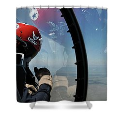 Thunderbirds Photo Shower Curtain
