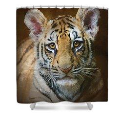Tiger Cub Shower Curtain