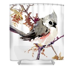Titmouse Shower Curtain