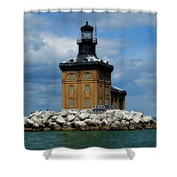 Toledo Harbor Lighthouse Shower Curtain