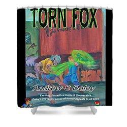 Torn Fox Shower Curtain