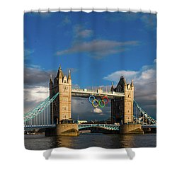 Shower Curtain featuring the photograph Tower Bridge by Stewart Marsden