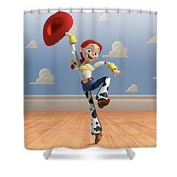 Toy Story 3 Shower Curtain