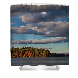 Trapp's Point Shower Curtain