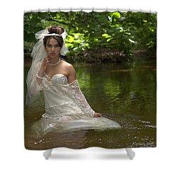 Trash The Dress Shower Curtain