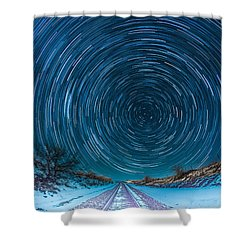 Travel North  Shower Curtain