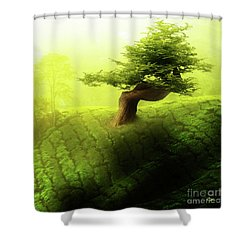 Tree Of Life Shower Curtain by Mo T
