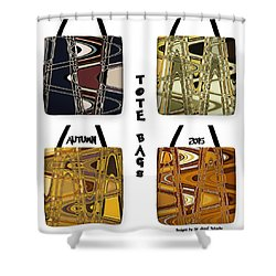 Trendy Autumn Tote Bags - Design Sir Josef Putsche - Collection 2015 -  Shower Curtain