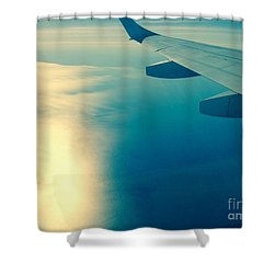 Trip To Shower Curtain by France Laliberte