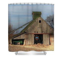 Tucked  Away In Rural Iowa Shower Curtain