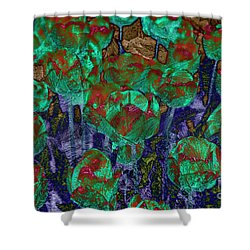 Tulips  Shower Curtain by Patricia Hofmeester