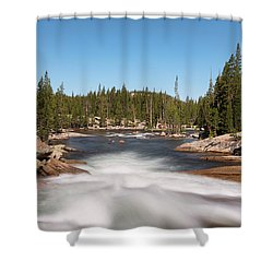 Tuolumne River Shower Curtain