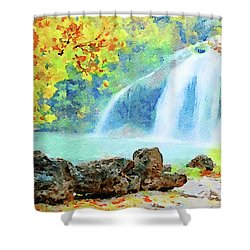 Turner Falls Shower Curtain