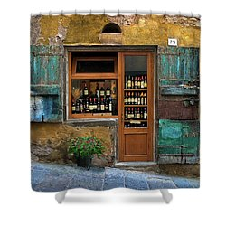 Tuscany Wine Shop 2 Shower Curtain