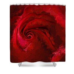 Unfurling Beauty Iv Shower Curtain