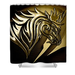 Unicorn Collection Shower Curtain