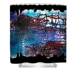 Untitled-109 Shower Curtain