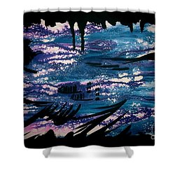 Untitled-128 Shower Curtain