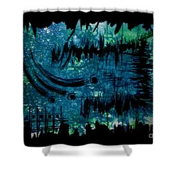 Untitled-98 Shower Curtain