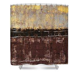 Untitled No. 4 Shower Curtain by Julie Niemela