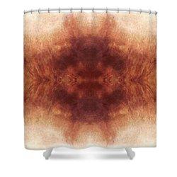 Digital Cowhide Shower Curtain