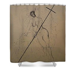 Unveiled Beauty Shower Curtain