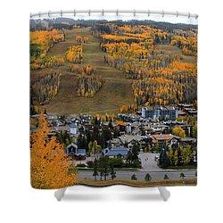 Vail Colorado Shower Curtain
