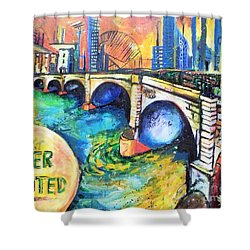 Van Gogh Today Shower Curtain