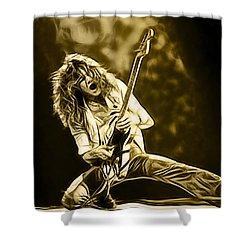 Van Halen Eddie Van Halen Collection Shower Curtain