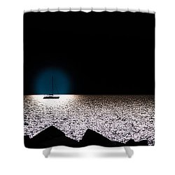 Vela Shower Curtain by Bruno Spagnolo