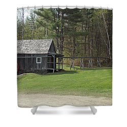 Vermont Grist Mill Shower Curtain
