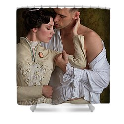 Victorian Lovers Shower Curtain