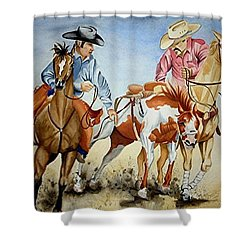 Victory Dance Shower Curtain