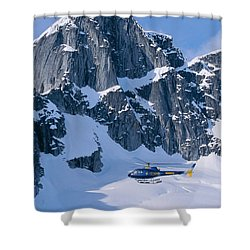 View Of Alaska Shower Curtain by John Hyde - Printscapes