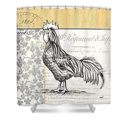 Vintage Farm 1 Shower Curtain by Debbie DeWitt